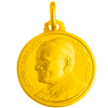 Médaille Jean Paul II (or jaune)